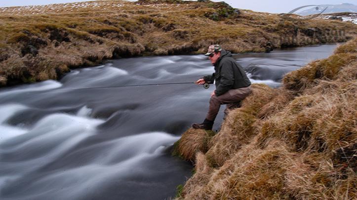 Pesca en el Río Minnivallalaekur