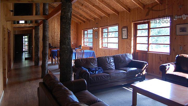 Interior del Llanada Grande Lodge