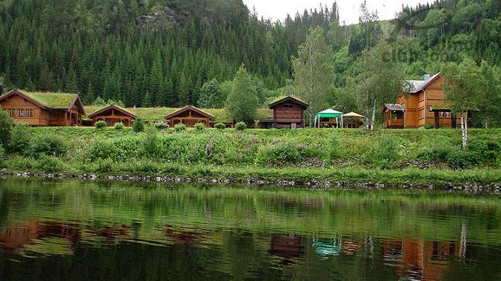 Orklagaard Lodge a orillas del Río Orkla
