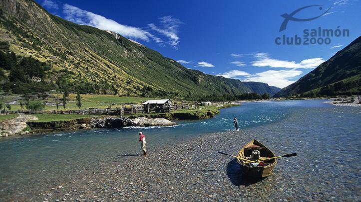 Pesca con Lodge Cinco Rios en Patagonia Chilena