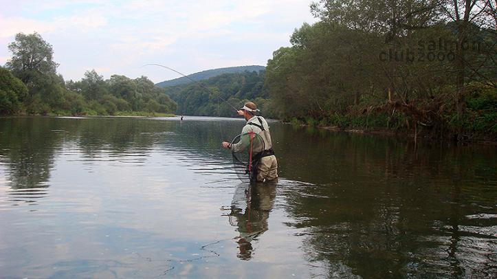 Pesca en Río San