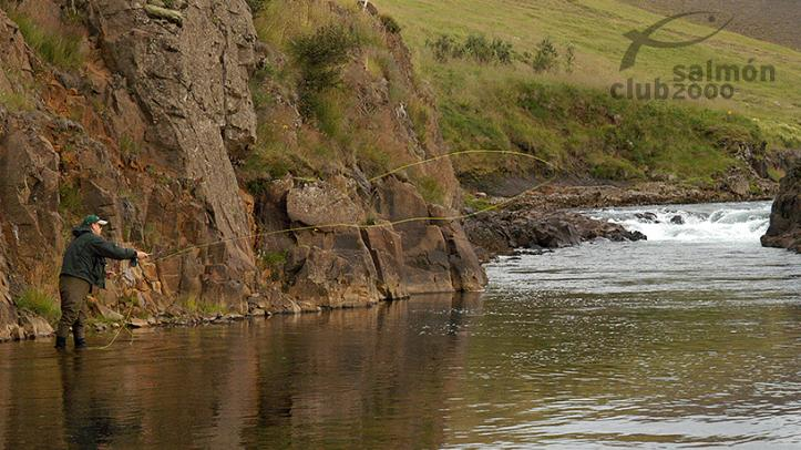 Pesca en el Río Grimsá