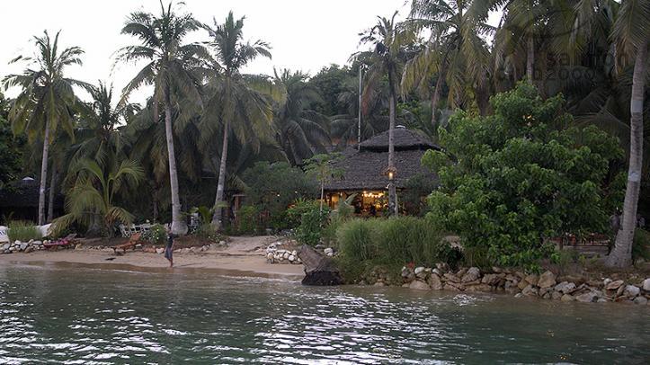 Lodge en Nosy Be, Madagascar