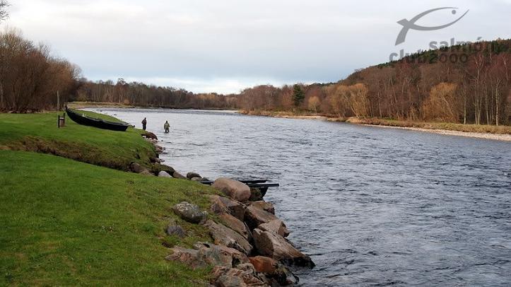 Pesca en Río Spey