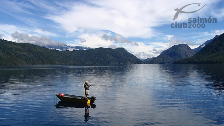 Pesca en el Río Puelo