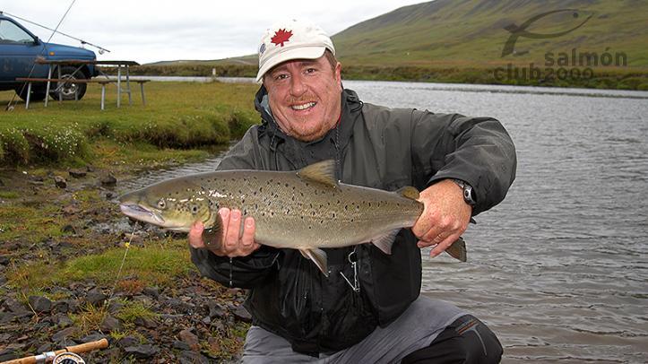 Pesca en el  Río Vatnsdalsá