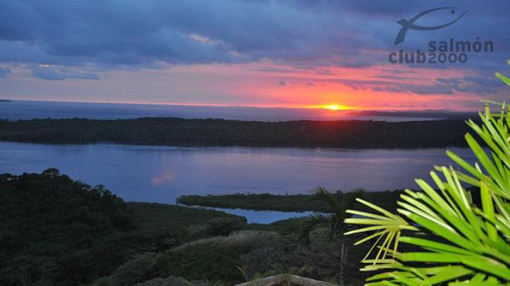 Vista al Golfo de Chiriquí desde el resort.