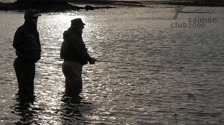 Pesca en el Río Grenlaekur