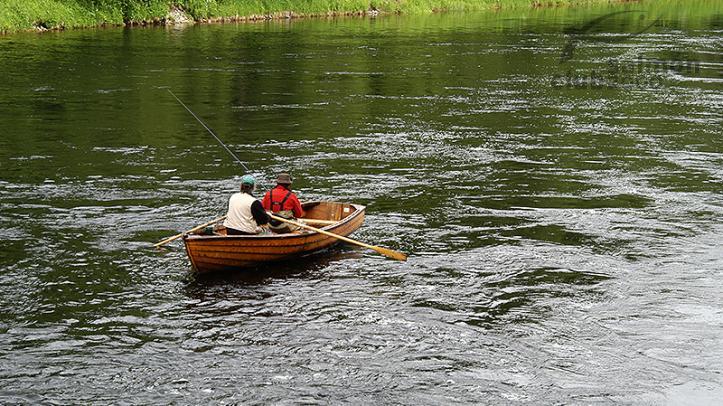 Pesca en el Río Orkla
