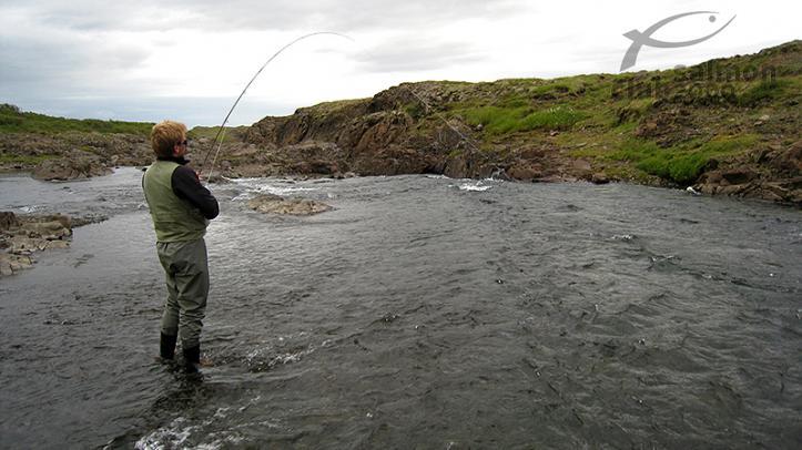 Pesca en el Río Langa