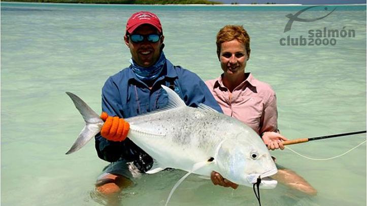 Pesca en atolón de Alphonse y St. Francois