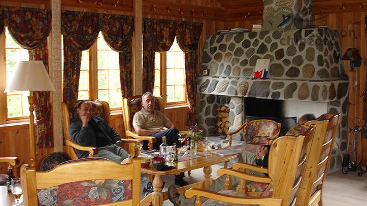 Comedor del Orklagaard Lodge