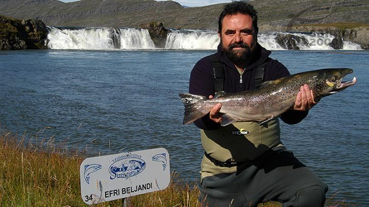 Pesca en el Río Breiddalsá