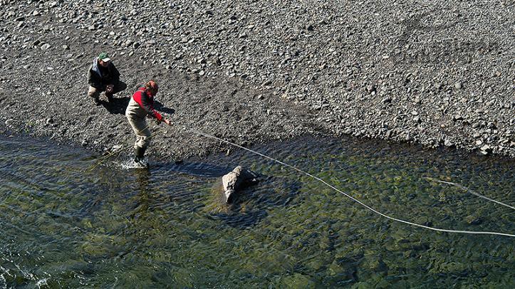 Pesca en el Río Hrútafjardará