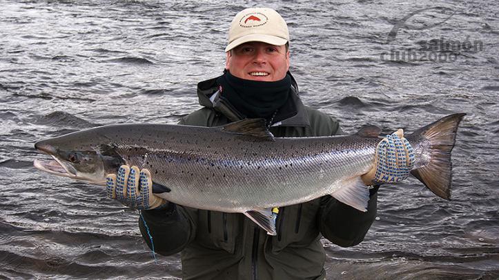 Pesca en el Río Rynda