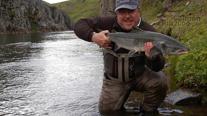 Pesca en el Río Sela