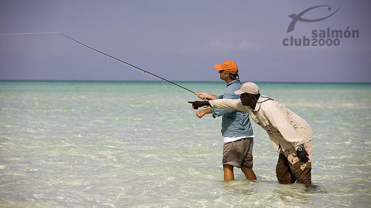 Pesca del Macabí en la isla de South Andros con Bair´s Lodge, Bahamas