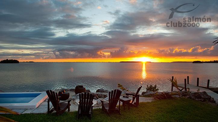 Atardecer en el Abaco Lodge, Bahamas
