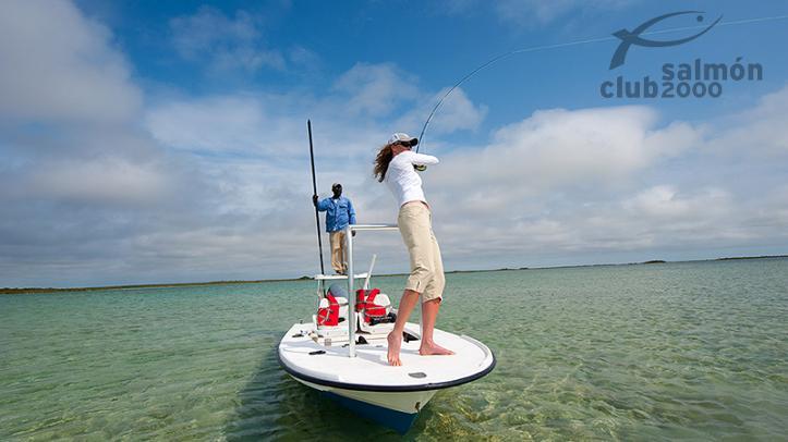 Pesca con Bair´s Lodge en isla de South Andros, Bahamas