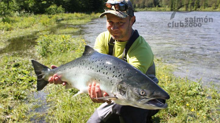Viaje Pesca río Eira Noruega