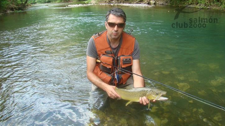 Captura en Río Gradac Serbia