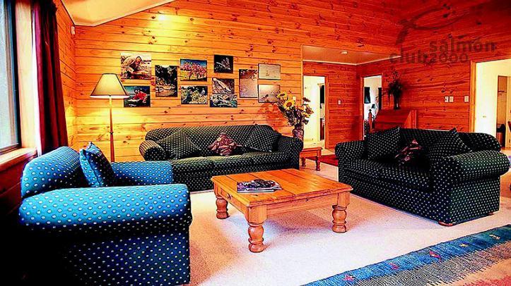 Interior de la Villa de 2 habitaciones en Tongariro Lodge