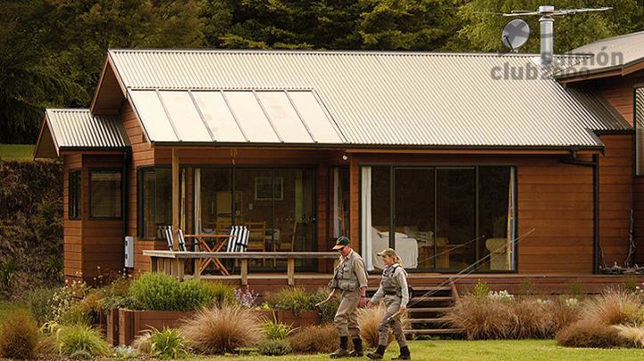 Vista exterior de Villa de 3 habitaciones de Tongariro Lodge