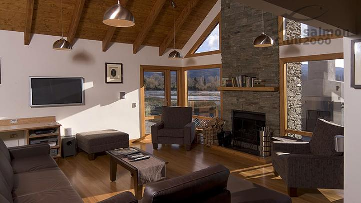 Lounge de Villa de 5 habitaciones en Tongariro Lodge