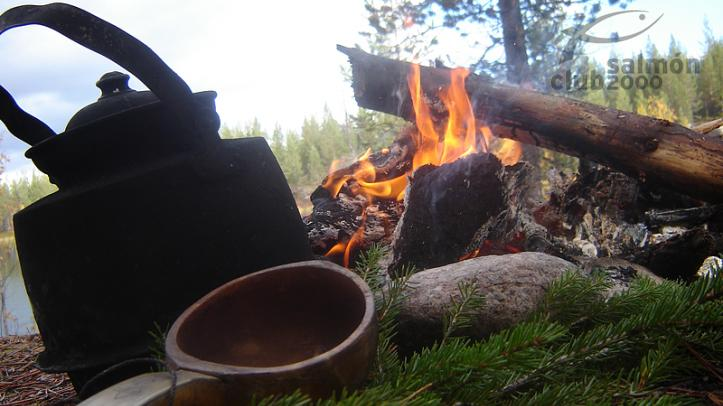 Fuego en Suecia Tjärnheden
