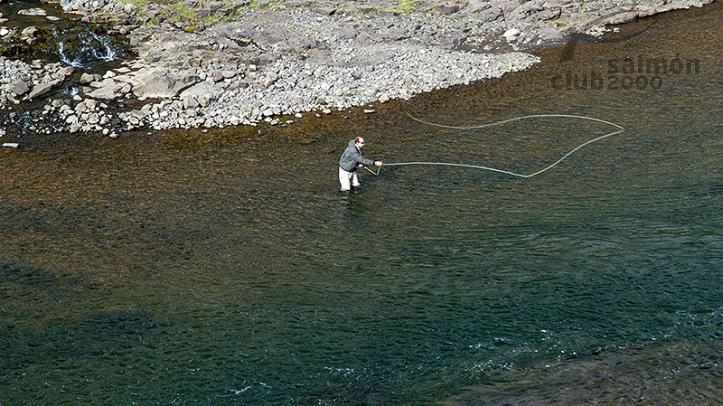 Pesca en el río Laxa in Aldalda