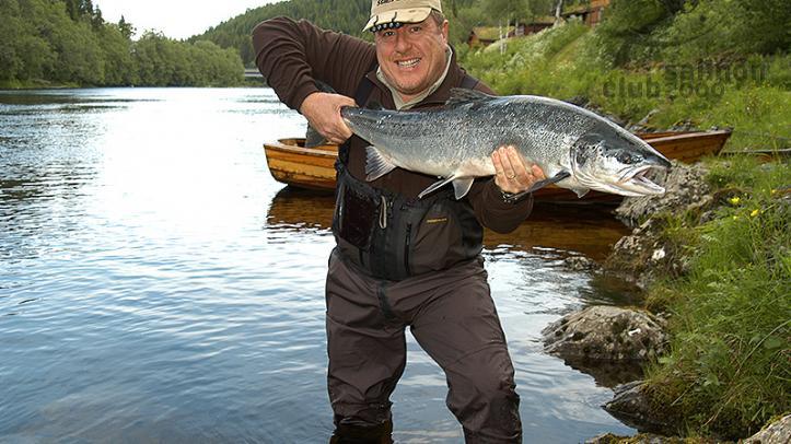 Viajes de pesca mosca Pesca en el Río Orkla