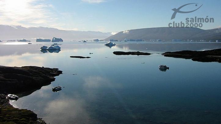 Paisaje del Sur de Groenladia, escenario de la caza del Buey Almizclero