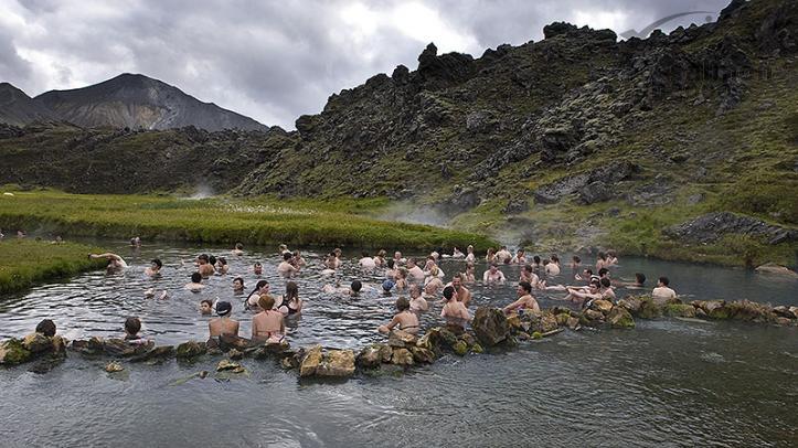 Aguas termales de Landmannalaugar