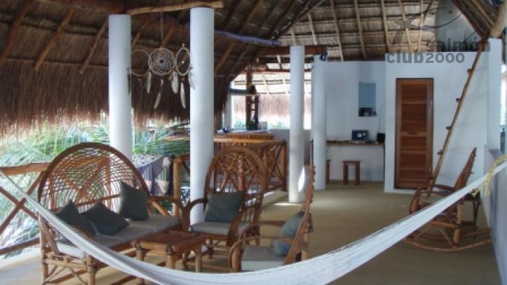 El lodge de Punta Allen