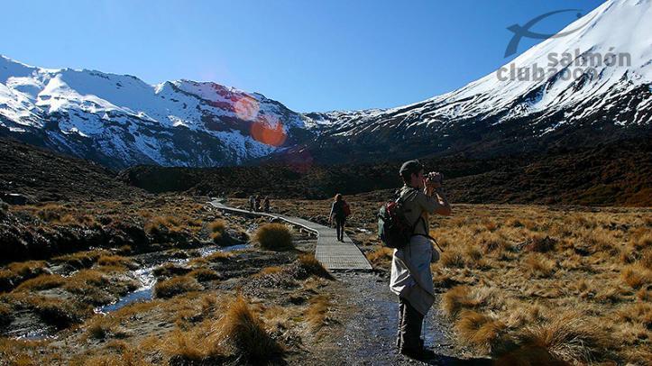 Cruce Alpino del Tongariro, actividad organizada por Tongariro Lodge