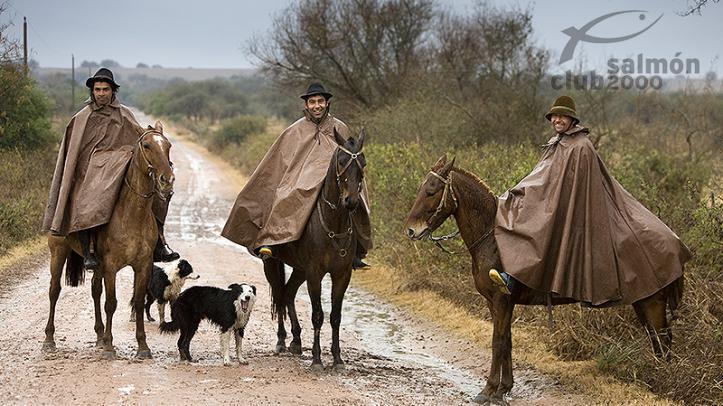 Escena rural de la Provincia de Paysandú, Uruguay. Estancia San Juan.