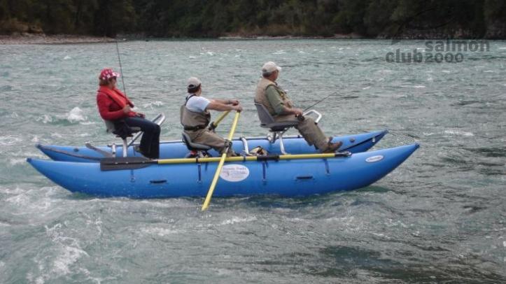 Cataraft, 2 embarcaciones disponibles