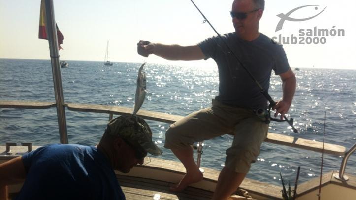 Pesca en Es Cau