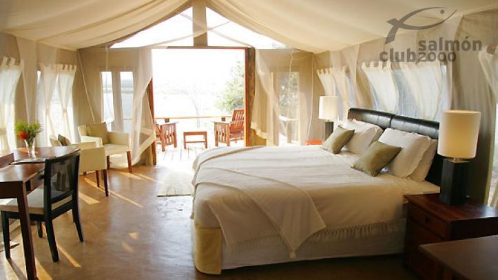 Suite Clásica del Royal Zambezi Lodge.