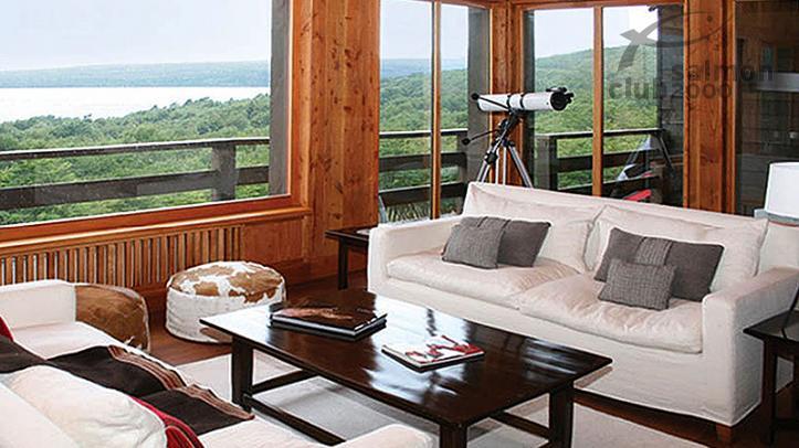 Interior del Tres Valles Lodge