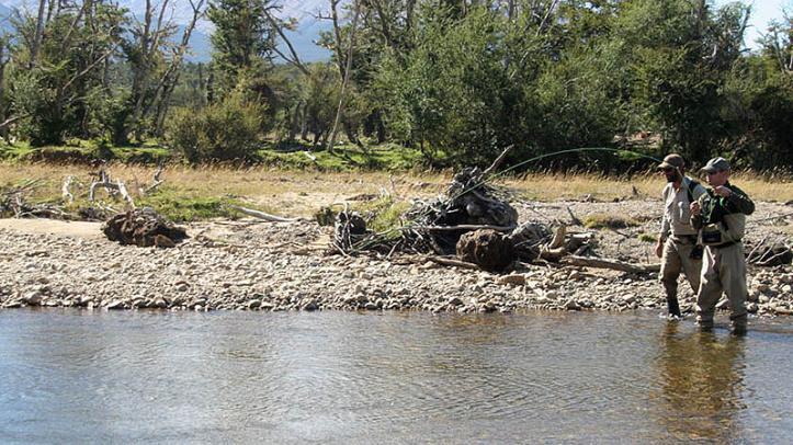 Pesca en el río Pico