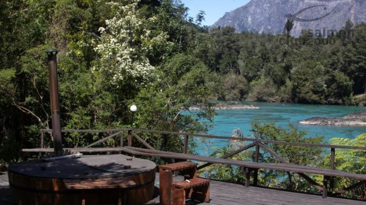 Vistas al Río Puelo