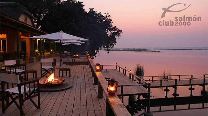 Terraza del Royal Zambezi Lodge