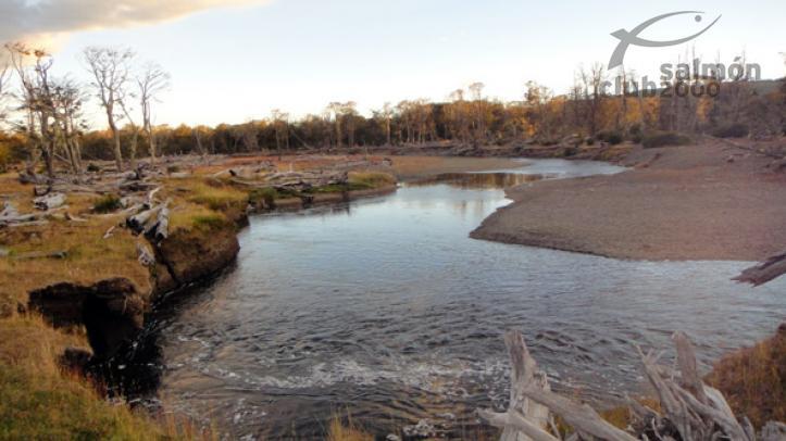 Pesca en el rio Irigoyen