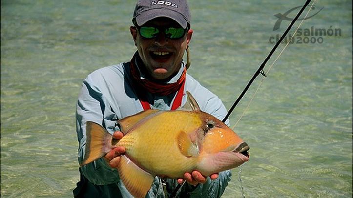 Pesca en el atolón Alphonse