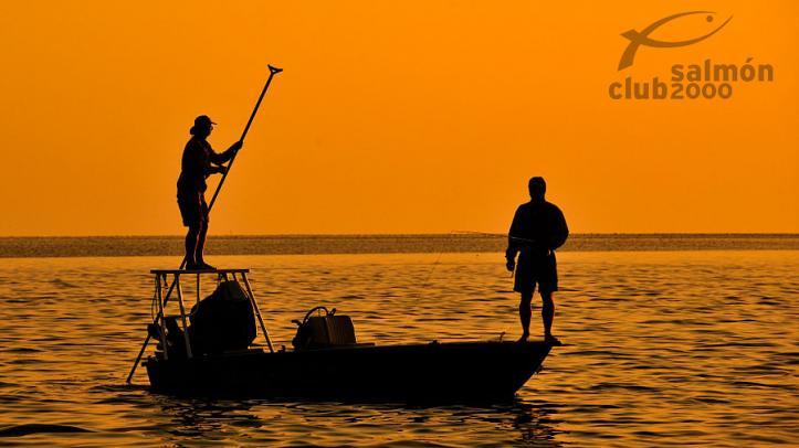 Pesca hasta el atardecer