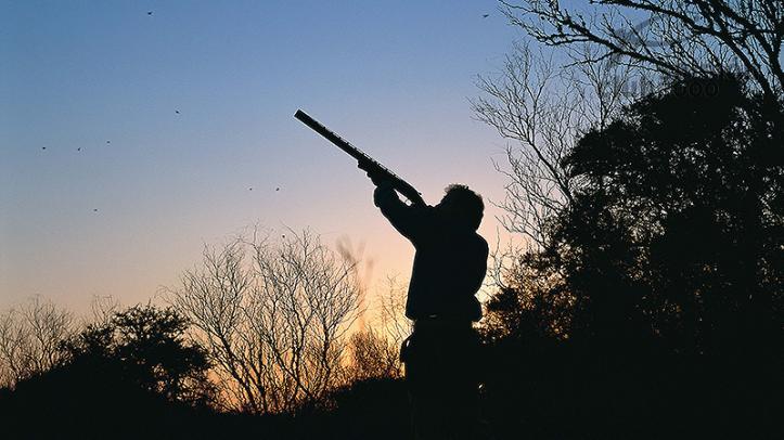 Caza de palomas y perdices en el Hasparren Lodge, Provincia de Río Negro, Uruguay