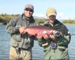 """Portada del vídeo Pescando en Alaska, """"la última frontera"""""""