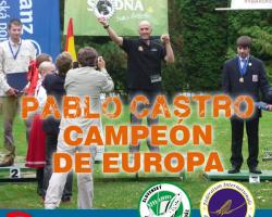 Pablo castro campeon de europa pesca mosca