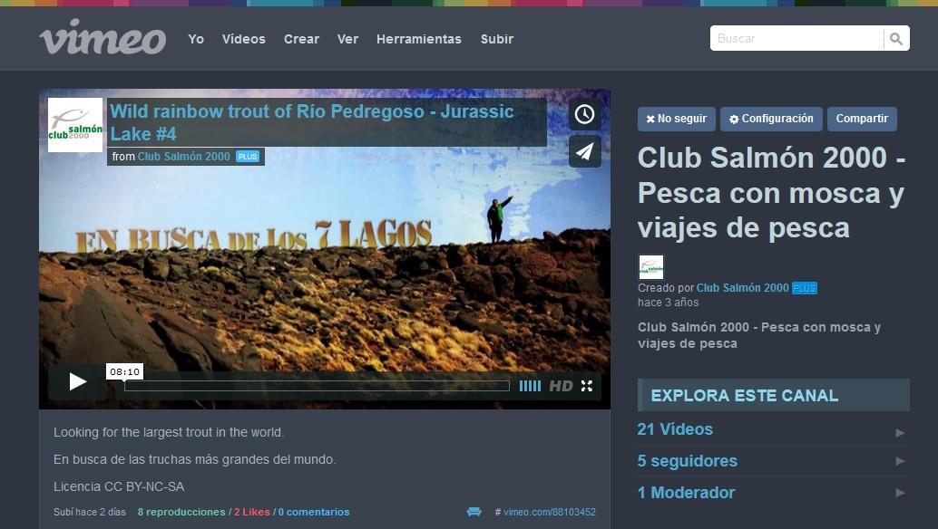 Visita nuestro canal Vimeo